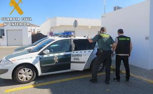 Arrestado por el robo de un vehículo en Níjar