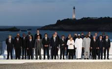 Golpe de efecto de Macron para salvar la cumbre