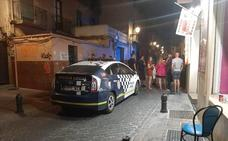 Reyerta por el robo de un móvil en la calle Elvira de Granada