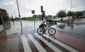 Activado el aviso amarillo por fuertes lluvias en Granada para el lunes y martes