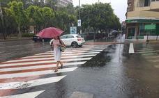 Aviso amarillo por fuertes lluvias en la provincia de Almería para el lunes y martes