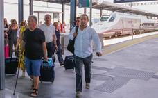 Dos horas de retraso para el AVE Granada-Barcelona que tuvo una avería en Antequera