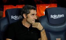 Ernesto Valverde: «Todos hemos estado bien, no solo Griezmann»