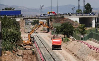 Avanzan las obras del intercambiador de trenes entre Granada y Almería