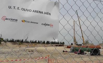 Las obras del palacio de deportes Olivo Arena cogen carrerilla