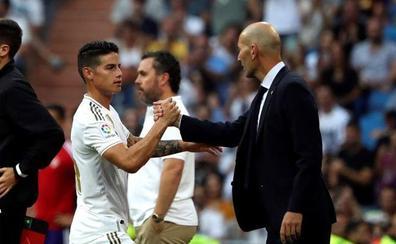La enfermería del Real Madrid se agranda: James, lesionado