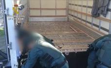 85 detenidos, más de 5.000 kilos de hachís y 17 armas de fuego en una de las mayores operaciones en Andalucía