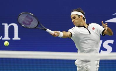 Federer pasa a tercera ronda tras ganar al bosnio Dzumhur sin dificultades