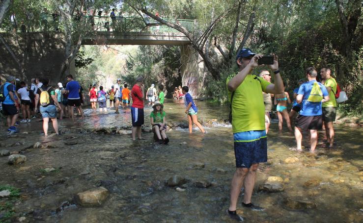 Así ha sido el paseo por Los Cañones en Jaén