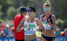 María Pérez vuelve a bañarse en oro en el día grande de los 'Fuertes y rápidos'