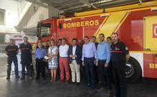 La Diputación invierte 560.000 euros en dos nuevos vehículos para el Parque de Bomberos de Almuñécar y Loja