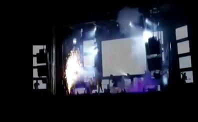 Muere una bailarina de orquesta en plena actuación tras una explosión pirotécnica en Las Berlanas