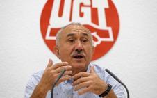UGT advierte de que sin gobierno las pensiones solo subirán un 0,25%