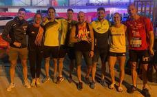Diez medallas para visibilizar el atletismo granadino