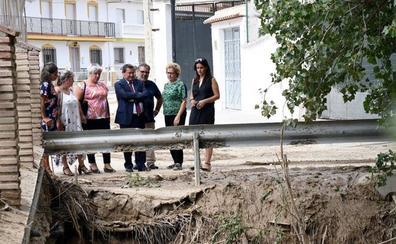 Diputación compromete asistencia técnica y ayuda económica los municipios afectados por las inundaciones