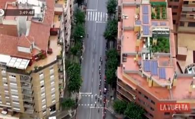 La Policía descubre una plantación de marihuana gracias al helicóptero de La Vuelta ciclista