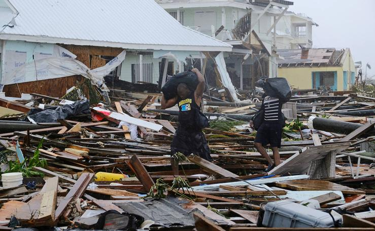 Dorian deja al menos 20 muertos en Bahamas y 70.000 personas necesitan ayuda inmediata