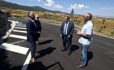 La Diputación concluye la mejora de la carretera de acceso a Lugros