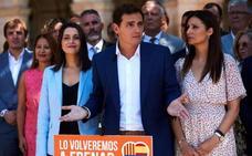 Rivera acusa al «tsunami separatista» de haber perpetrado un golpe como el de Tejero