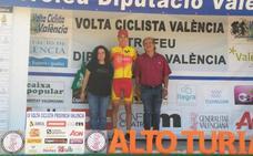 Carlos Rodríguez conquista la etapa reina de la Volta a Valencia