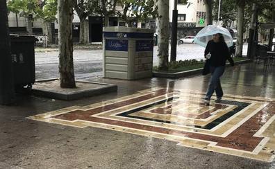 Intenso domingo de lluvia en la provincia de Jaén