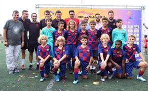 El FC Barcelona, primer ganador del Costa de Almería Cup alevín