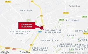 Un accidente provoca un atasco de 9 kilómetros en la Circunvalación