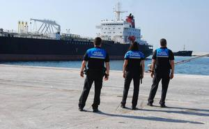 Los guardianes de la seguridad portuaria