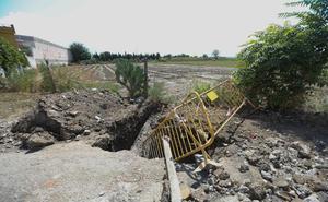Los residentes de Bobadilla tras las lluvias: «Vamos a tener ya que cortar carreteras para que nos hagan caso»