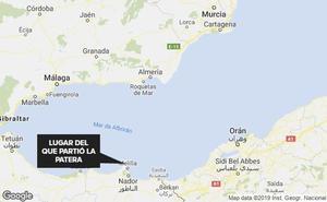 Buscan una patera a la deriva en el mar de Alborán con 79 inmigrantes, entre ellos dos menores