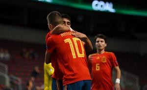 La España de Antonio Pérez golea a Ucrania y ya es semifinalista