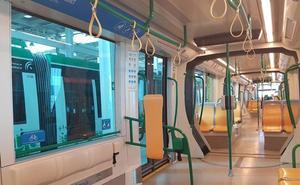 El Metro de Granada reforma los trenes para mejorar el confort y aumentar la capacidad