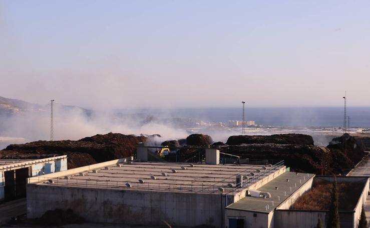La planta de residuos vegetales de Motril sufre otro incendio