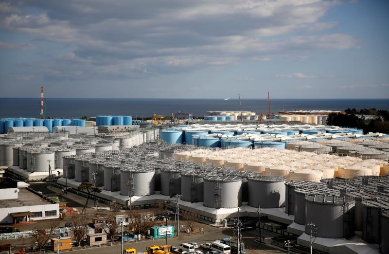 TEPCO planea verter al océano Pacífico agua radiactiva de la central nuclear de Fukushima