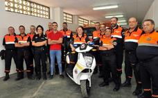 Protección Civil de Linares ya cuenta con una moto eléctrica para mejorar el servicio