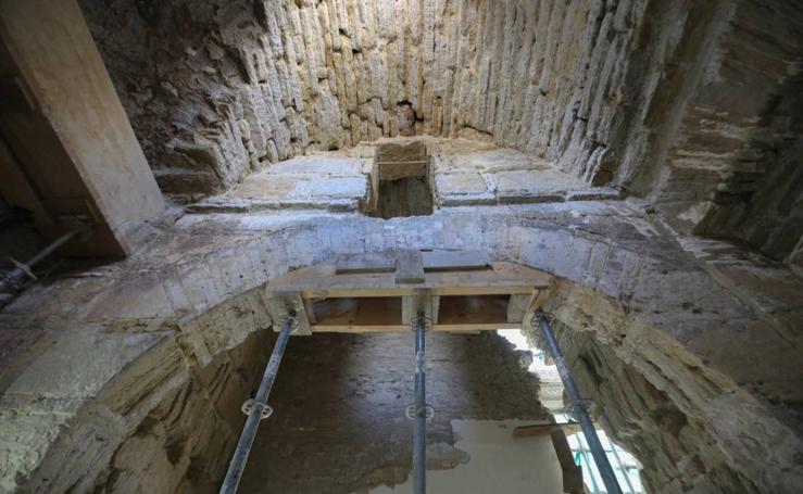 Los restos de la antigua Bab Qastar