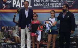 Daniela Muñoz, campeona de España en categoría benjamín