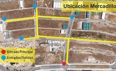 La ubicación alternativa para el mercadillo será en el polígono de los Olivares