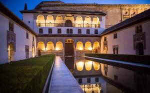 Del patio de Comares al 'patio del Alcázar'