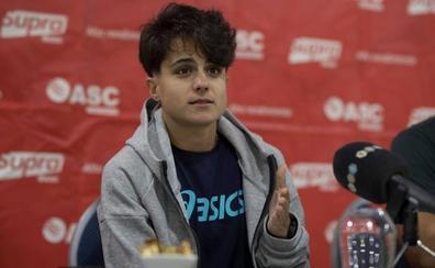 María Pérez: «Una plaza olímpica será más importante que una medalla, Doha no será fácil»