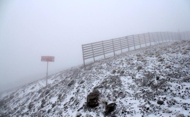 Así ha sido la primera nevada de la temporada en Sierra Nevada