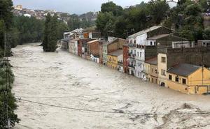 Máxima alerta por la gota fría que inunda las regiones del Mediterráneo