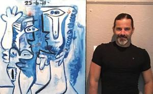 José María Bea expone su obra en la Casa de la Cultura de Almuñécar