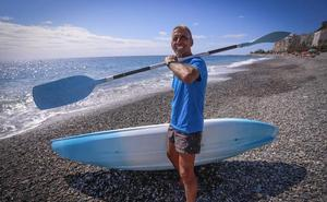 El héroe de Velilla que rescató a dos ancianos que se ahogaban en la playa