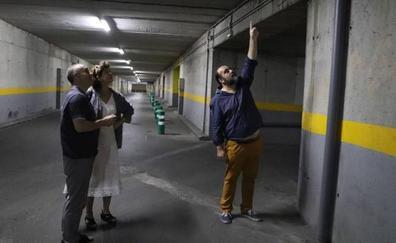 Podemos IU demanda al Ayuntamiento de Granada solución a las graves filtraciones de agua en garajes de San Lázaro