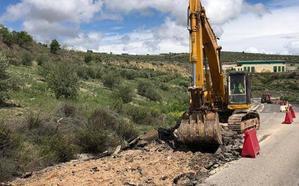 Las obras en la A-315 a su paso por Torreperogil alcanzan su fase final