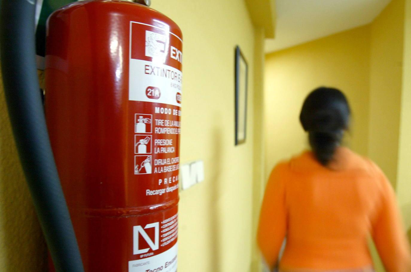 El Ayuntamiento instalará un sistema de incendios en el Centro Ocupacional de Discapacitados Psíquicos