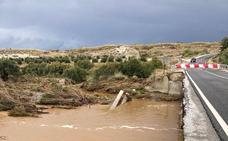 El puente entre Baza y Benamaurel estará cortado al menos una semana