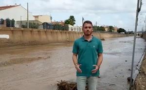 El periodista de IDEAL Daniel Serrano cuenta la última hora de la gota fría desde Pulpí, el municipio más afectado