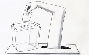 Democracia plagiada